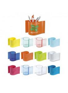 objet publicitaire - promenoch - Pot à Crayons Tub  - Pot à Crayons Personnalisé