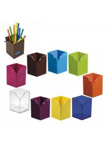 objet publicitaire - promenoch - Pot à Crayons Opsi  - Pot à Crayons Personnalisé