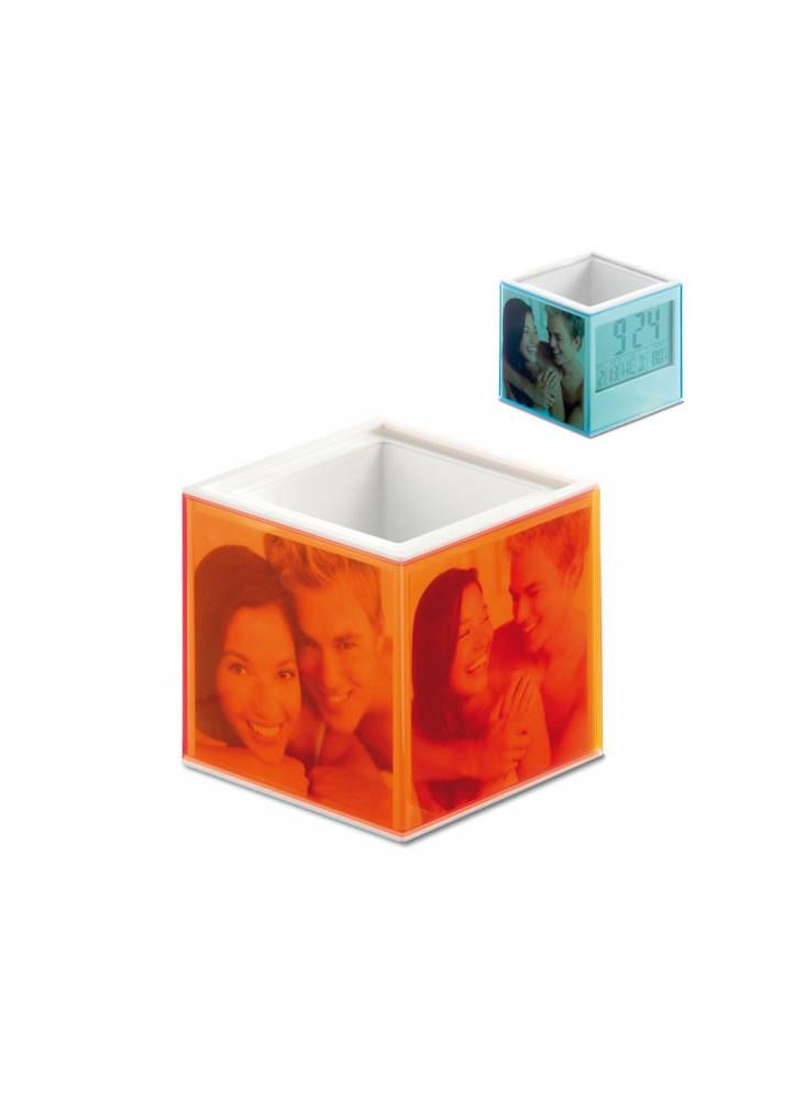 Pot à Crayons Cube  publicitaire