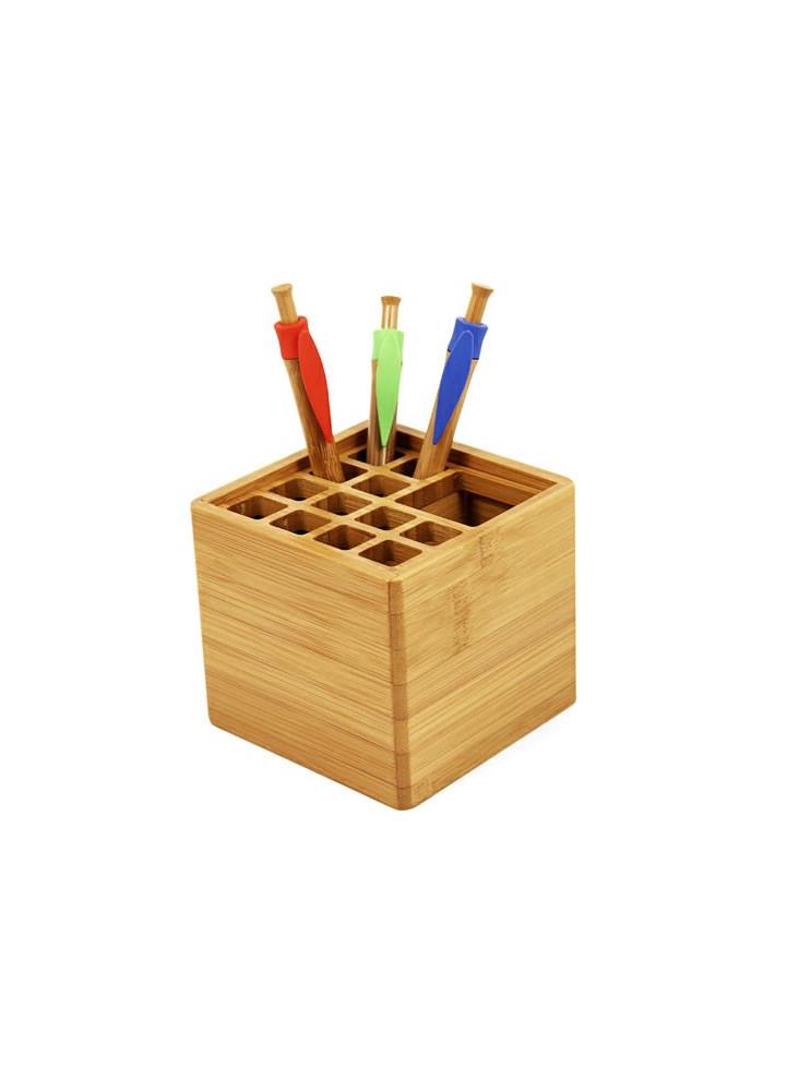 Pot à Crayons Bambou  publicitaire
