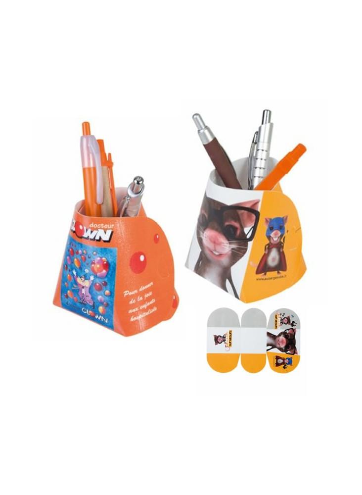 Pot à Crayons Slice  publicitaire