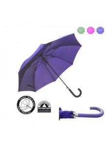 objet publicitaire - promenoch - Parapluie Paris Publicitaire  - Parapluie manche à canne