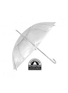 objet publicitaire - promenoch - Parapluie Transparent  - Parapluie manche à canne
