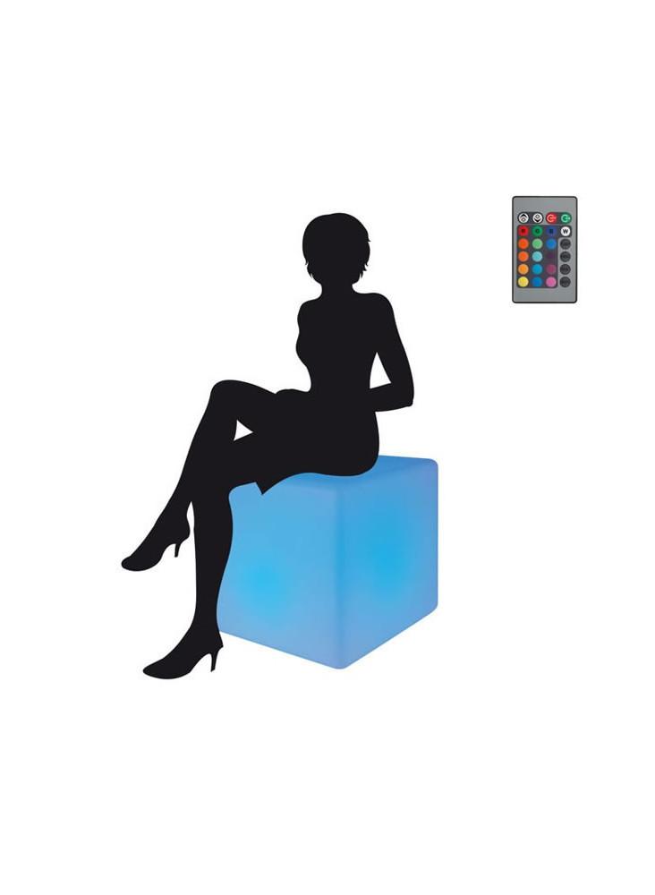 Cube Lumineux Géant  publicitaire