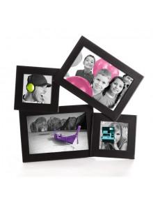 objet publicitaire - promenoch - Cadre 4 Photos  - Cadre photo Personnalisé