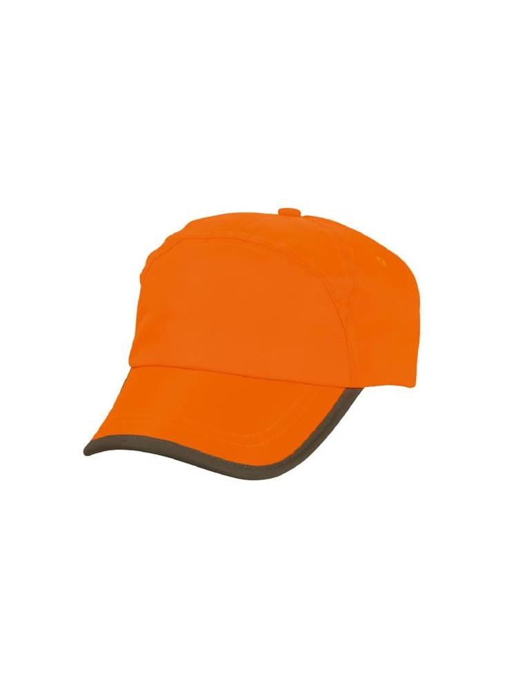 Casquette Orange Fluo publicitaire