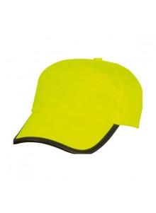 objet publicitaire - promenoch - Casquette Jaune Fluo  - Sacs et casquettes