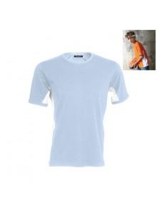 objet publicitaire - promenoch - Tee-Shirt Bicolore Kariban  - Tee-shirts Enfants