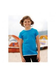 objet publicitaire - promenoch - Tee-Shirt Bicolore Ringer T  - Tee-shirts Enfants