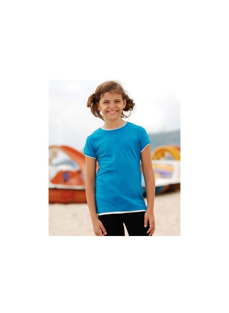 Tee-Shirt Bicolore Ringer T  publicitaire