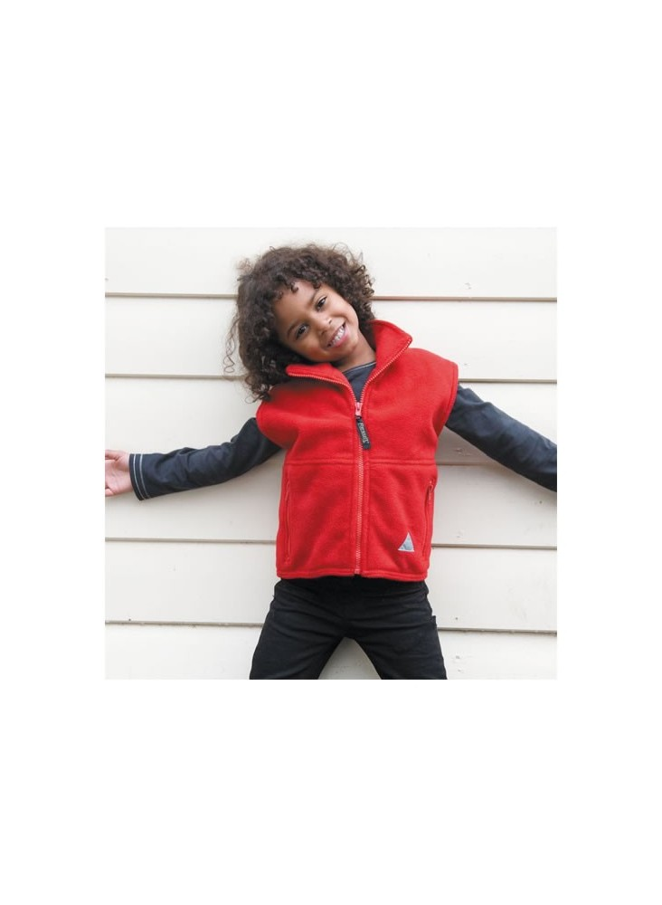 Bodywarmer Polaire Enfant  publicitaire