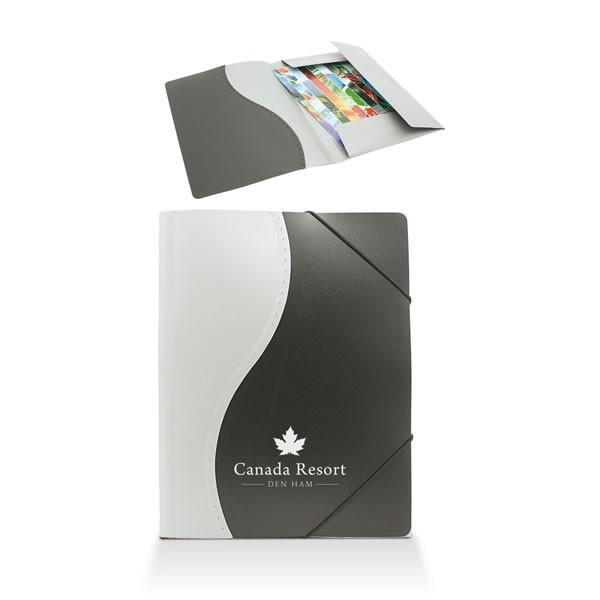 Portedocuments à élastiques Portedocuments Personnalisé - Porte document personnalisé
