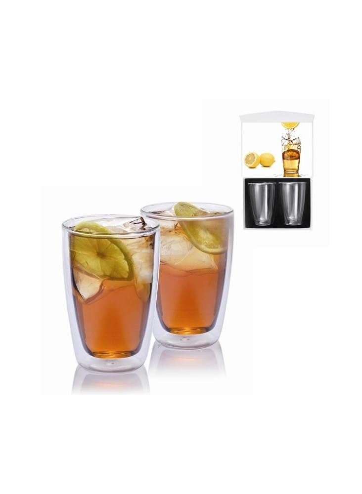 2 Verres à thé  publicitaire