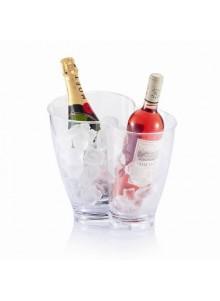 objet publicitaire - promenoch - Double seau à vin  - Accessoires Vin Sommelier