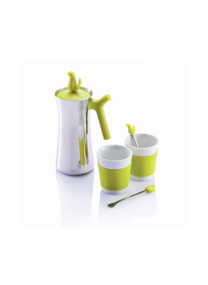 Cafetière + 2 Tasses  publicitaire