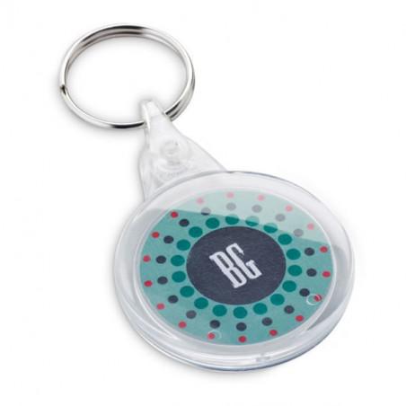 Porte-clés Rond Plastique