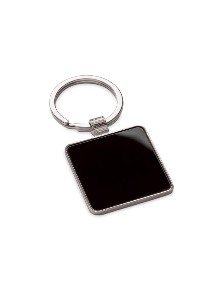 Porte-clés Noir  publicitaire