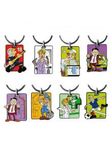 objet publicitaire - promenoch - Porte-clés Cartoon  - Porte-clés Publicitaire