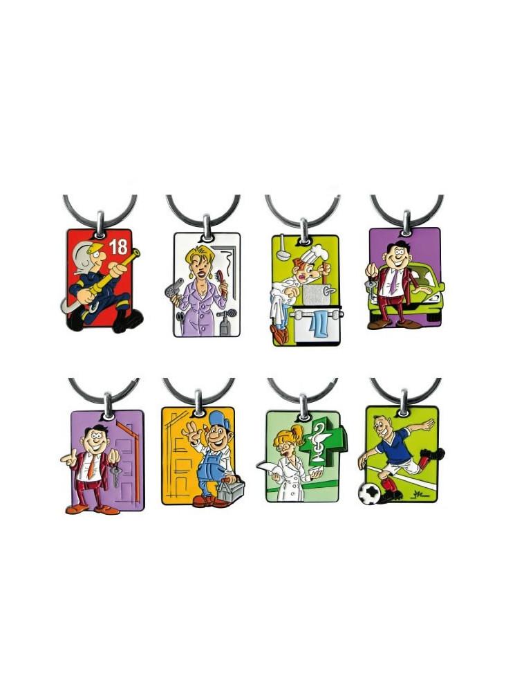 Porte-clés Cartoon  publicitaire