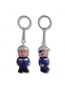 objet publicitaire - promenoch - Porte-clés Pompier  - Porte-clés Publicitaire