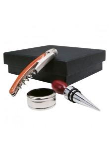 objet publicitaire - promenoch - Coffret Accessoires Vin  - Accessoires Vin Sommelier