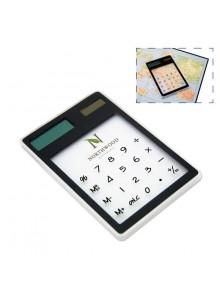 objet publicitaire - promenoch - Calculatrice solaire transparente  - Calculatrices