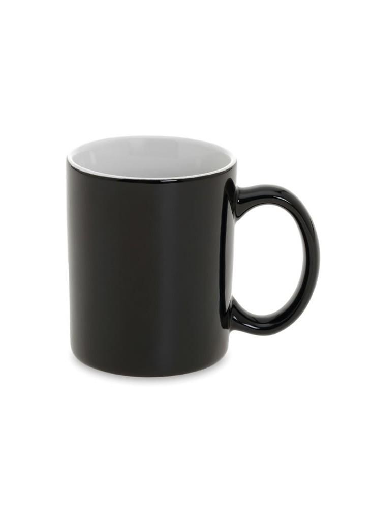 mug classic noir mug personnalis pas cher. Black Bedroom Furniture Sets. Home Design Ideas