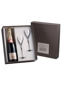objet publicitaire - promenoch - Champagne Duval Leroy Brut 1er Cru + 2 Flûtes  - Champagne Coffret