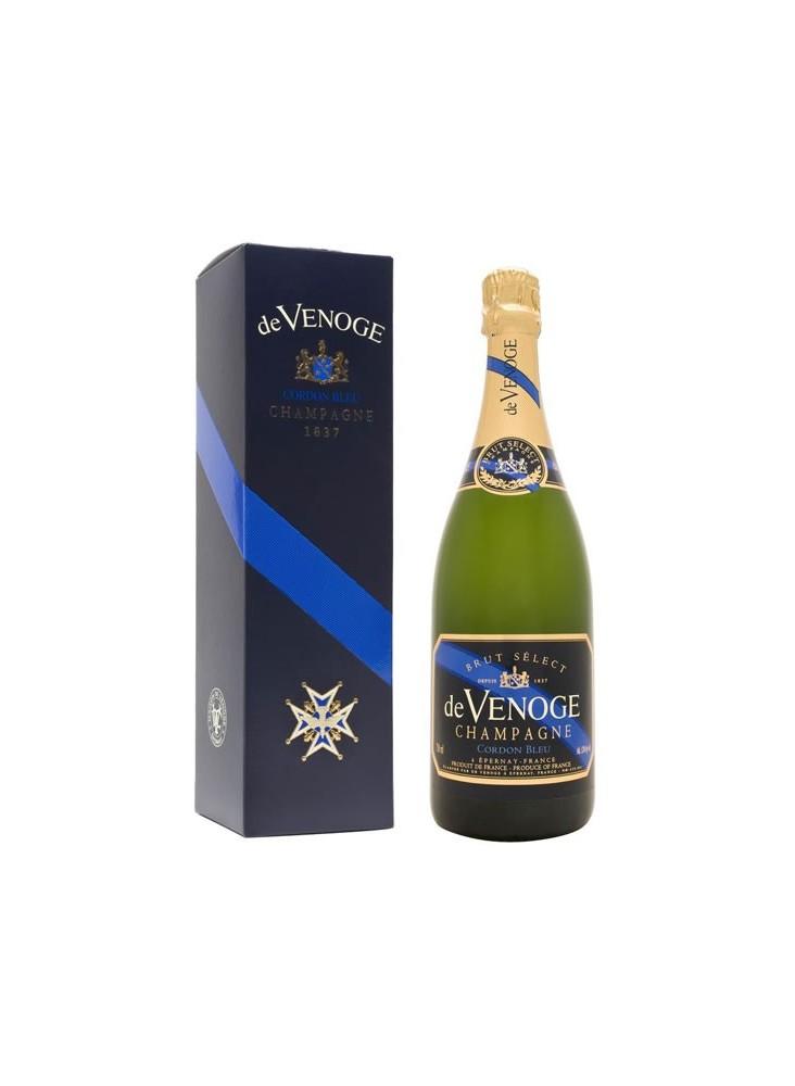 Champagne de Venoge Cordon Bleu Brut Select  publicitaire