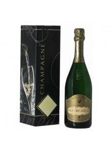 objet publicitaire - promenoch - Champagne Fleury Gille Brut + Coffret  - Champagne Coffret