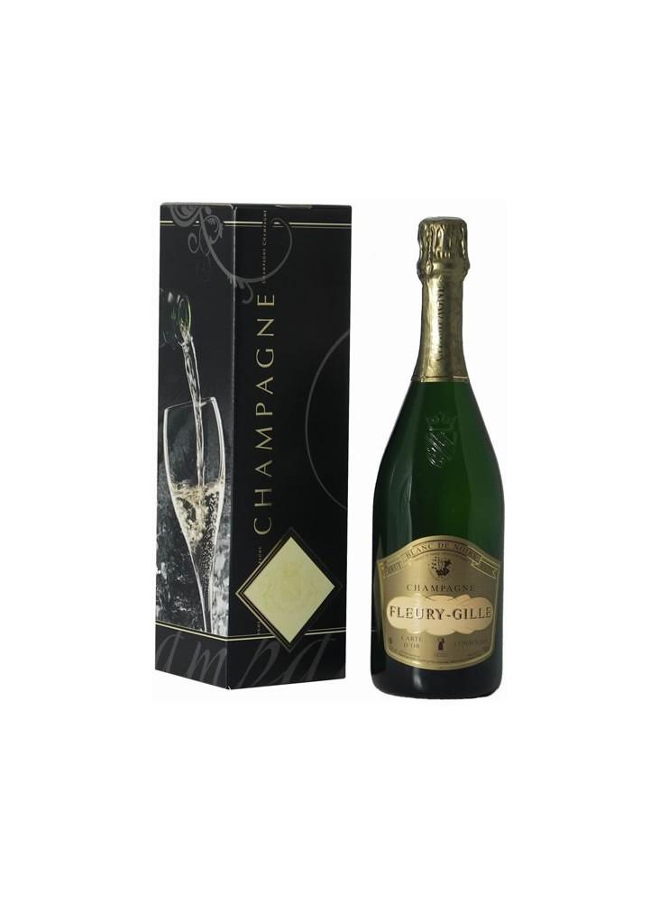 Champagne Fleury Gille Brut + Coffret  publicitaire