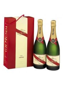 objet publicitaire - promenoch - Champagne Mumm Cordon Rouge Brut  - Champagne Coffret