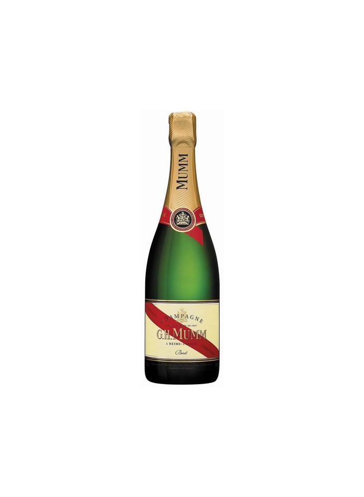 Champagne Mumm Cordon Rouge Brut  publicitaire
