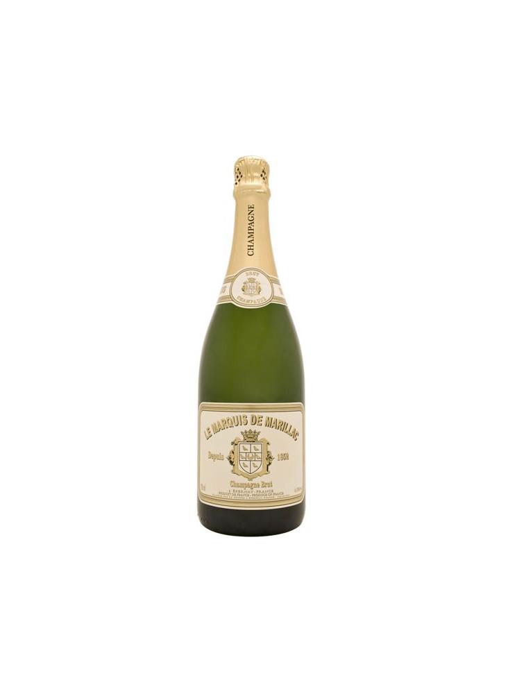 Champagne Marquis de Marillac Brut  publicitaire