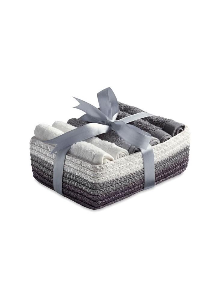 Coffret Cadeau 6 Serviettes  publicitaire