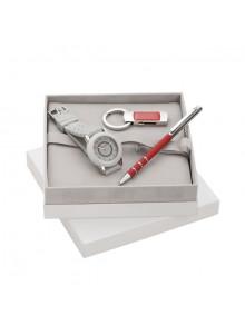 objet publicitaire - promenoch - Montre & Stylo & Clé USB Cacharel  - Cadeaux d'entreprises