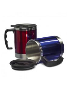 objet publicitaire - promenoch - Mug Isotherme 0,40 l  - Thermos Personnalisé