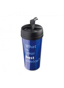 objet publicitaire - promenoch - Mug Isotherme Freeze 420 ml  - Thermos Personnalisé