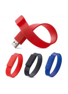 objet publicitaire - promenoch - Clé USB Bracelet Silicone  - Clés USB Publicitaire