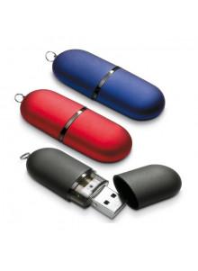 objet publicitaire - promenoch - Clé USB Capsule Satin  - Clés USB Publicitaire
