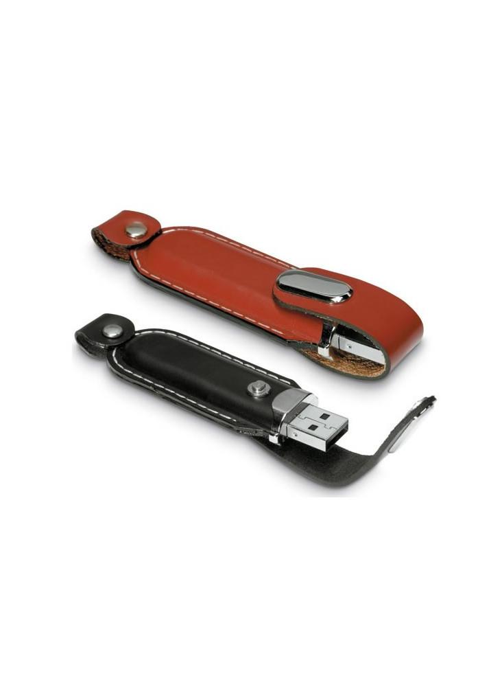 Clé USB Cuir  publicitaire