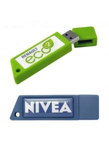 objet publicitaire - promenoch - Clé USB Rectangulaire  - Clés USB Publicitaire