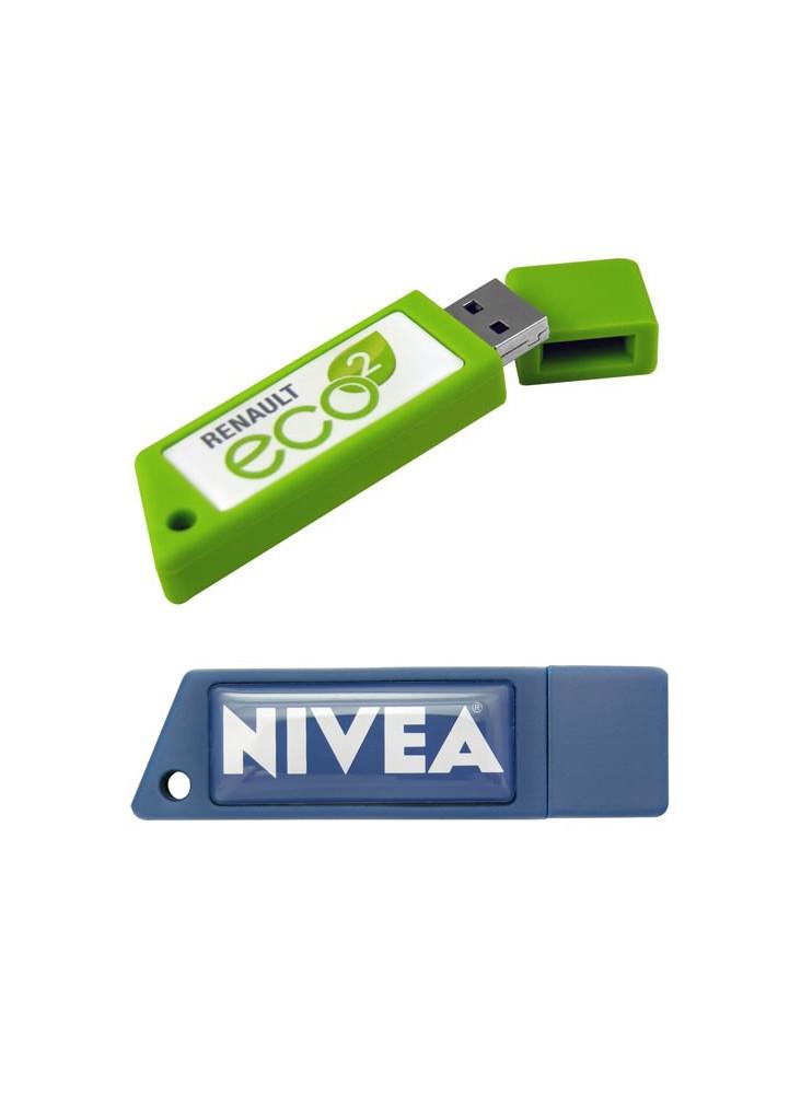 Clé USB Rectangulaire  publicitaire