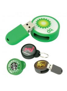 objet publicitaire - promenoch - Clé USB Logo Rond  - Clés USB Publicitaire