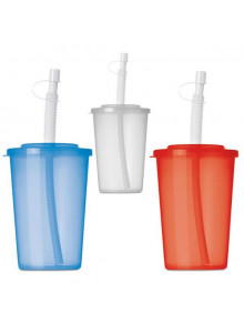 objet publicitaire - promenoch - Gobelet Plastique 450 ml  - Accessoires Repas Goûter