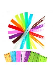 objet publicitaire - promenoch - Bracelet Identification Translucide  - Bracelet Identification