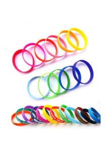 objet publicitaire - promenoch - Bracelet Silicone Adulte ou Enfant  - Bracelet Identification