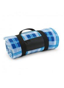 objet publicitaire - promenoch - Plaid Polaire Multicolore  - Couverture Plaid Polaire