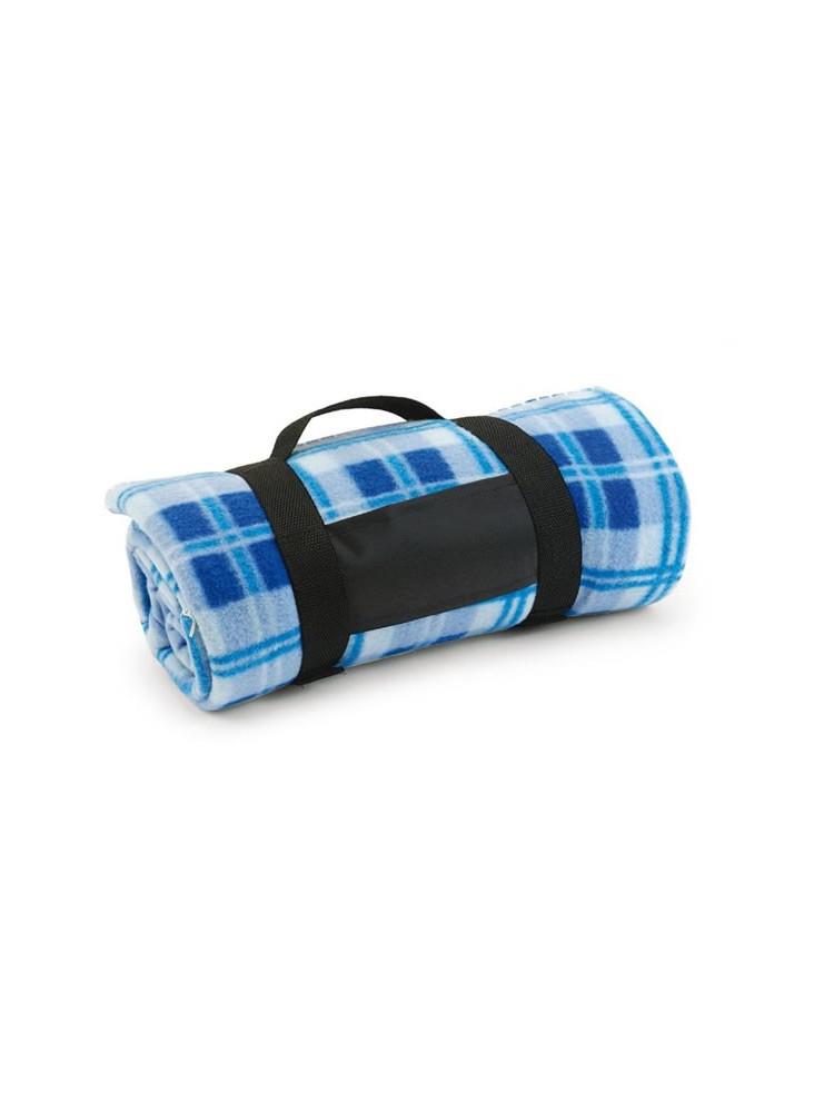 plaid polaire personnalis multicolore. Black Bedroom Furniture Sets. Home Design Ideas