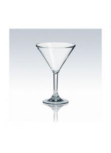objet publicitaire - promenoch - Verre à Martini Plastique  - Verre Gobelet Personnalisé